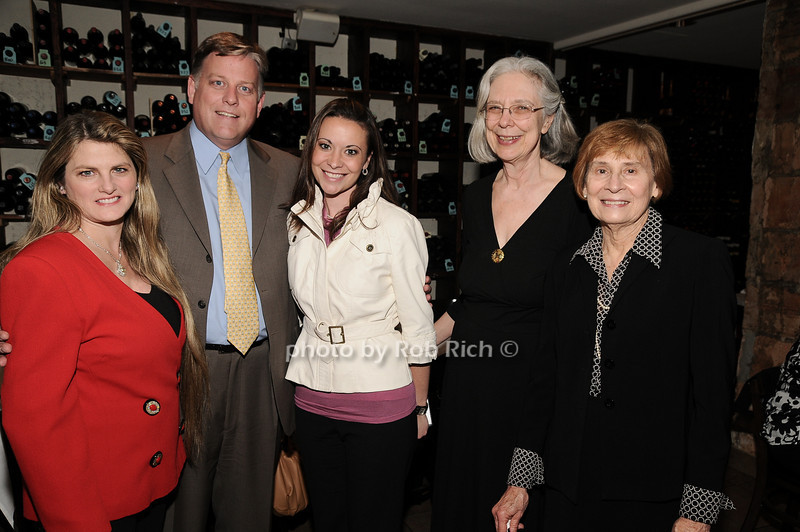 Bonnie Comley, John Davis, Heather Makrez, Cheri Minton, Diane Earl<br /> photo by Rob Rich © 2010 robwayne1@aol.com 516-676-3939
