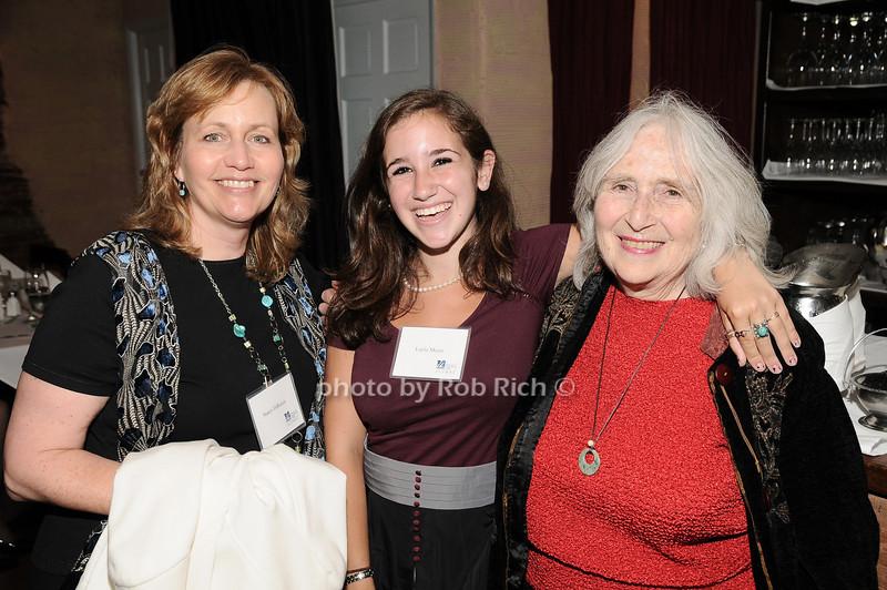 Nancy DiRocco, Layla Meyer, Phyllis Adler<br /> photo by Rob Rich © 2010 robwayne1@aol.com 516-676-3939