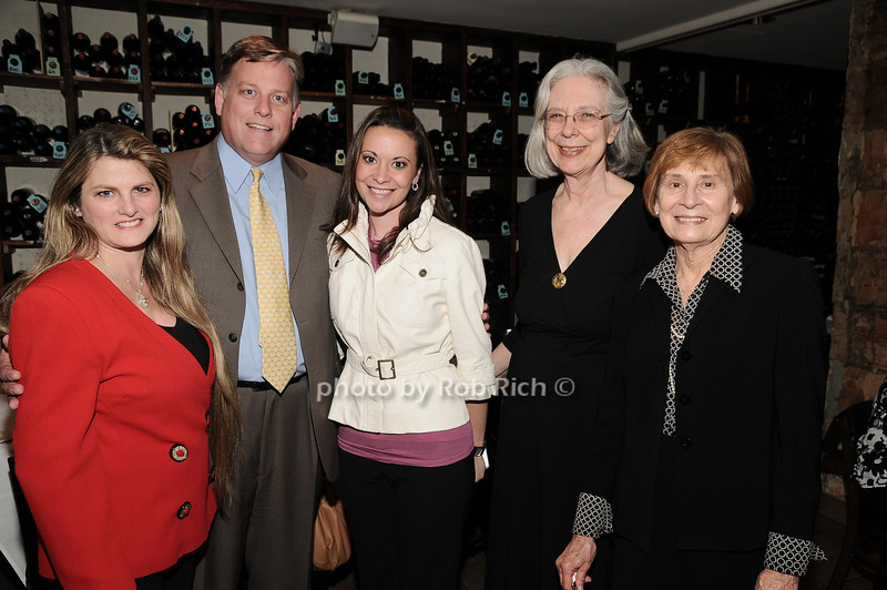 Bonnie Comley, John Davis, Heather Makrez, Cheri Minton, Diane Earl<br /> photo by Rob Rich © 2010 robwayne1@aol.com 516-676-3939
