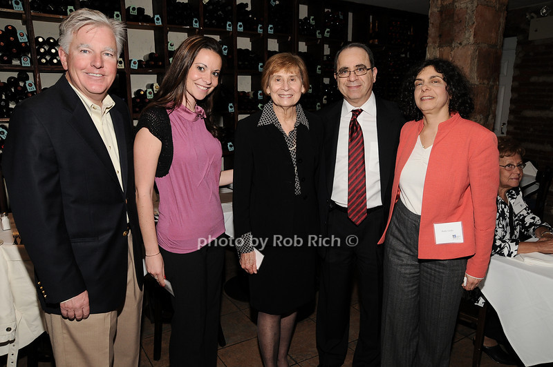 Marty Meehan,Heather Makrez, Diane Earl, Ehud Laska, Kathy Laska<br /> photo by Rob Rich © 2010 robwayne1@aol.com 516-676-3939