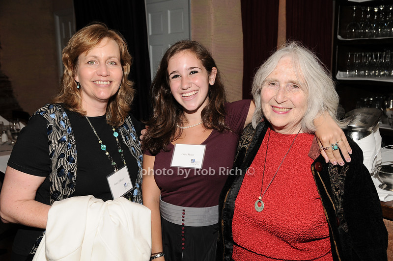 Nancy DiRocco, Layla Meyer, Phyllis Adler<br /> photo by Rob Rich © 2010 robwayne1@aol.com 516-676-3939