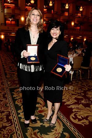 Carolyn Holba, Donna Kalajiian Lagani (USO Distinguished Service Award recepients)<br /> photo by Rob Rich © 2010 robwayne1@aol.com 516-676-3939