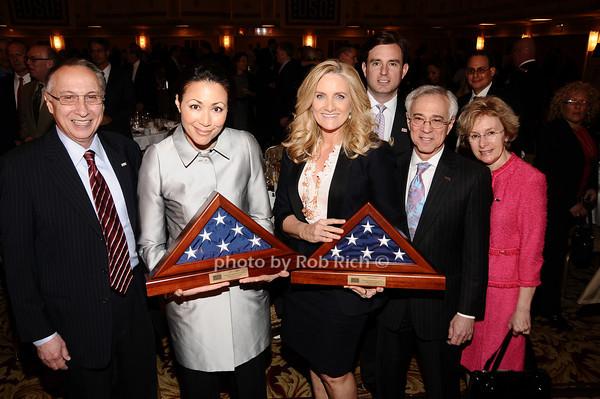 Steve Scheffer, Ann Curry, Alex Witt, Brian Whitting, Jack Jacobs, Sue Jacobs<br /> photo by Rob Rich © 2010 robwayne1@aol.com 516-676-3939
