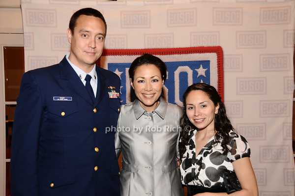 Donald Raby, Ann Curry,  Lucia Raby<br /> photo by Rob Rich © 2010 robwayne1@aol.com 516-676-3939