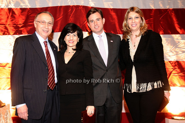 Steve Sheffer, Donna Kalajiian Lagani, Brian Whitting, Carolyn Holba<br /> photo by Rob Rich © 2010 robwayne1@aol.com 516-676-3939