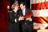 Brigader General Karlynn Peltz O'Shaughnnessy, Brian Whitting<br /> photo by Rob Rich © 2010 robwayne1@aol.com 516-676-3939