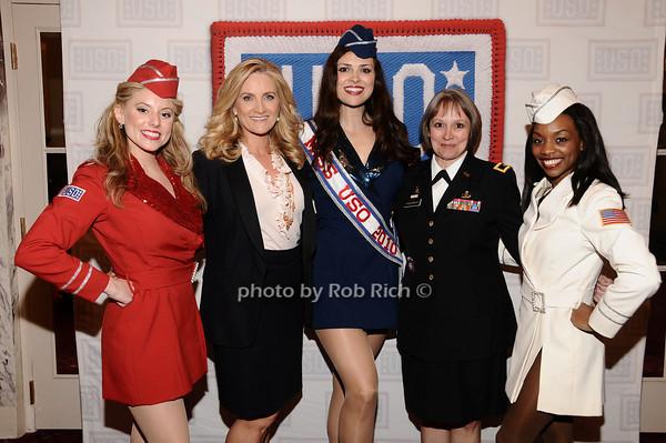 Natalie Loftin Bell, Alex Witt,, Heidi-Marie Ferrren, Brigader General Karlynn Peltz O'Shaughnnessy Melissa Vanpelt<br /> photo by Rob Rich © 2010 robwayne1@aol.com 516-676-3939