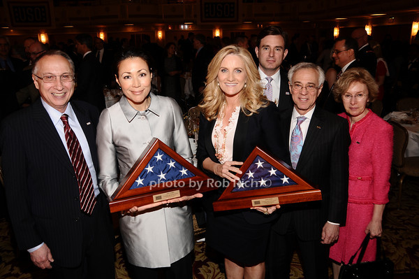 Steve Scheffer, Ann Curry, Alex Witt, Brian Whitting, Jack Jacobs, Sue Jacobs<br /> photo by Rob Rich © 2010 robwayne1@aol.com 516-676-3939