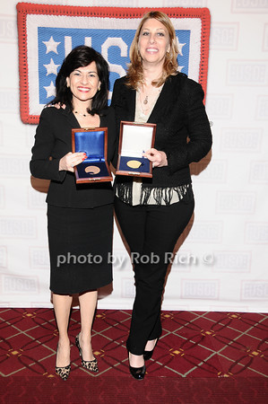 Donna Kalajiian Lagani, Carolyn Holba<br /> photo by Rob Rich © 2010 robwayne1@aol.com 516-676-3939