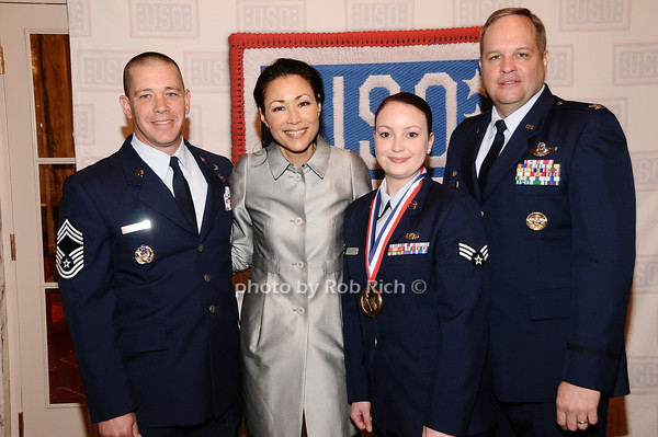 Dan Jacobs, Ann Curry, Wasson, Jefferey Swegel<br /> photo by Rob Rich © 2010 robwayne1@aol.com 516-676-3939