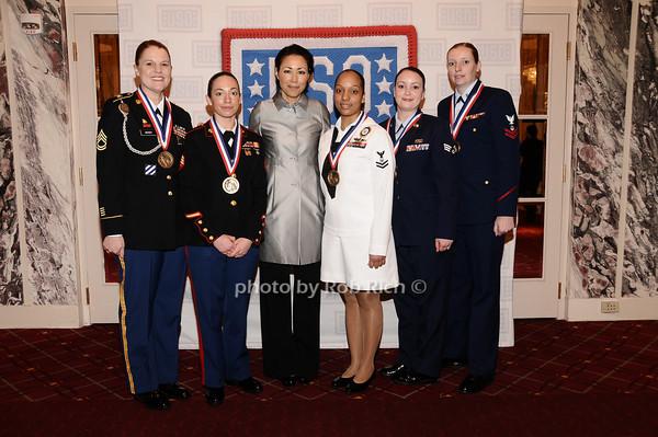 Moody, DiCaprio,Ann Curry, Estrella, Wasson, Borkowski<br /> photo by Rob Rich © 2010 robwayne1@aol.com 516-676-3939