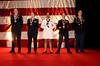 Borkowski, Wasson,Estrella, DiCaprio,Moody<br /> (Military Leadership Award Recepients)<br /> photo by Rob Rich © 2010 robwayne1@aol.com 516-676-3939