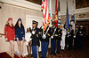 Color Guard, Fort Hamilton<br /> photo by Rob Rich © 2010 robwayne1@aol.com 516-676-3939