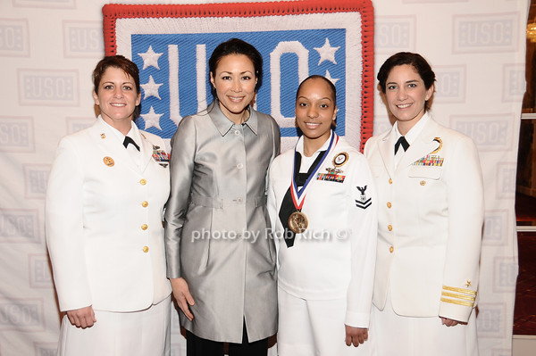 Marie Clark, Ann Curry, Susane McNinch, Estrella<br /> photo by Rob Rich © 2010 robwayne1@aol.com 516-676-3939