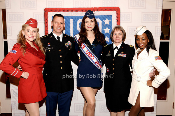 Natalie Loftin Bell, Darren Wiser, Heidi-Marie Ferrren, Brigader General Karlynn Peltz O'Shaughnnessy, Melissa Vanpelt<br /> photo by Rob Rich © 2010 robwayne1@aol.com 516-676-3939