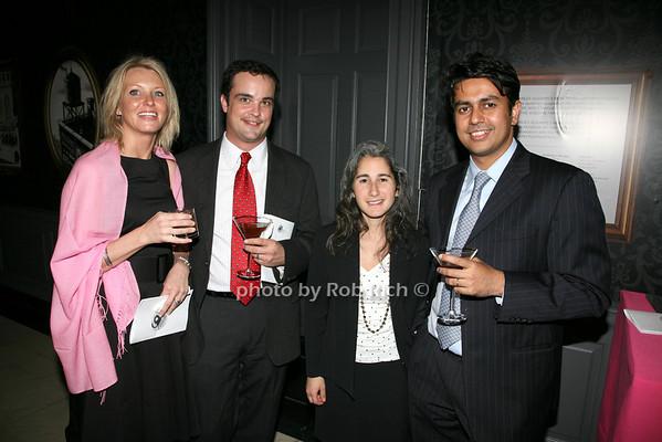 Christiana McCafferty, Eric McCafferty, Lucia Darino, Sachin Sarnobat