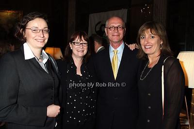 Andrea Vrbaklic, Julie Atherton, Bill Atherton, Mary Lee Sachs photo by Rob Rich © 2008 robwayne1@aol.com 516-676-3939