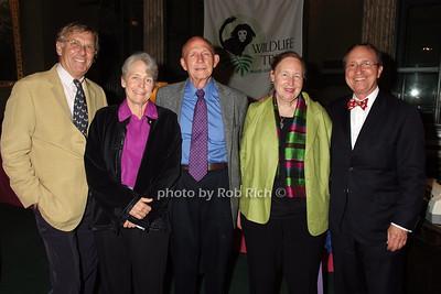 Renke Thye, Patricia Moehlman, Bjorn Figenschou, Alison Jolly, Tom Lovejoy photo by Rob Rich © 2008 robwayne1@aol.com 516-676-3939