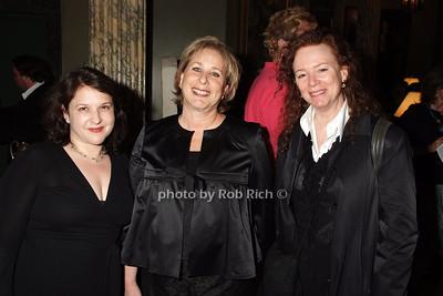 Jolie Schaffzin, Ellen Shedlarz, Melinda Fishman photo by Rob Rich © 2008 robwayne1@aol.com 516-676-3939