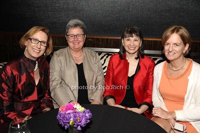 Roslyn Dawson Thompson, Lyssa Jenkins, Gloria Feldt, Judy Morrill photos by Rob Rich © 2014 robwayne1@aol.com 516-676-3939