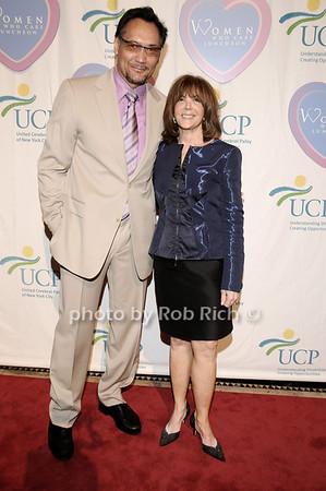 Jimmy Smits, Linda Kaplan Thaler<br /> photo by Rob Rich © 2010 516-676-3939 robwayne1@aol.com