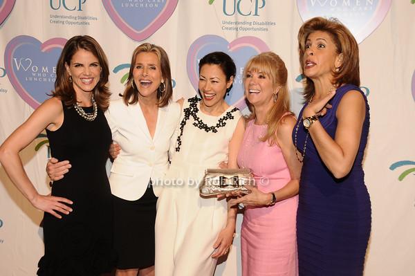 Natalie Morales, Meredith Vieira, Ann Curry, Kathy Lee Gifford, Hoda Kotb<br />  photo by Rob Rich © 2010 516-676-3939 robwayne1@aol.com