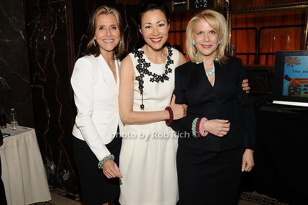 Meredith Vieira, Ann Curry, Francine Lefrak<br /> photo by Rob Rich © 2010 516-676-3939 robwayne1@aol.com