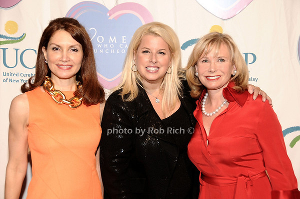 Jeanne Shafiroff, Rita Cosby, Sharon Bush