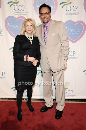 Francine Lefrak, Jimmy Smits<br /> photo by Rob Rich © 2010 516-676-3939 robwayne1@aol.com