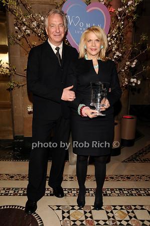 Alan Rickman, Francine Lefrak