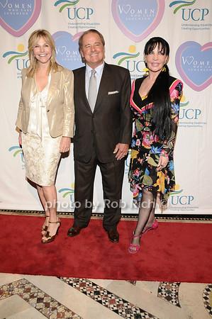 Judy Gilbert, Rod Gilbert, Loreen Arbus<br /> photo by Rob Rich © 2010 516-676-3939 robwayne1@aol.com
