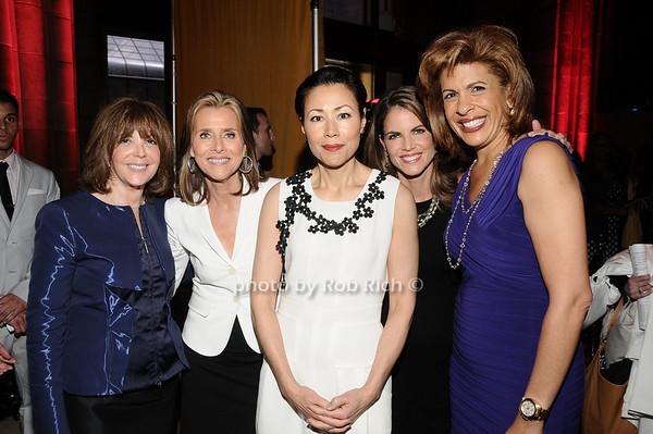 Linda Kaplan Thaler, Meredith Vieira, Ann Curry, Natalie Morales, Hoda Kotb<br /> photo by Rob Rich © 2010 516-676-3939 robwayne1@aol.com