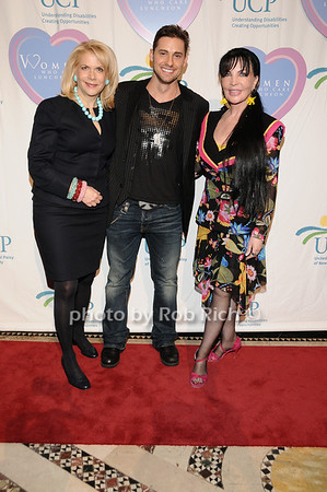 Francine Lefrak, Timothy Mandala, Loreen Arbus<br /> photo by Rob Rich © 2010 516-676-3939 robwayne1@aol.com