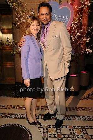 Donna Hanover, Jimmy Smits<br /> photo by Rob Rich © 2010 516-676-3939 robwayne1@aol.com