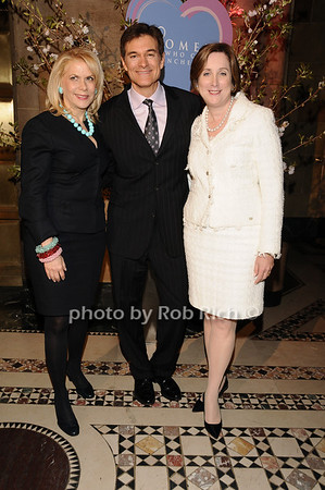 Francine Lefrak,Dr. Mehmet Oz, Dr. Pamela Gallin <br /> photo by Rob Rich © 2010 516-676-3939 robwayne1@aol.com