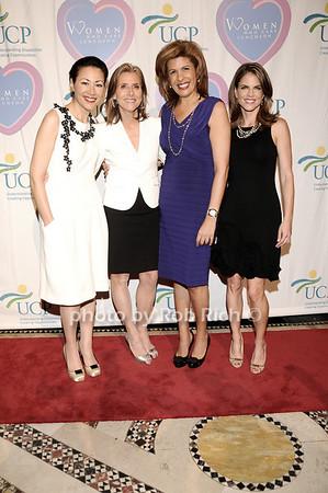 Ann Curry, Meredith Vieira, Hoda Kotb, Natalie Morales<br /> photo by Rob Rich © 2010 516-676-3939 robwayne1@aol.com