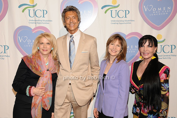 Francine LeFrak, Tommie Tune, Donna Hanover, Loreen Arbus<br /> photo by Rob Rich © 2010 516-676-3939 robwayne1@aol.com