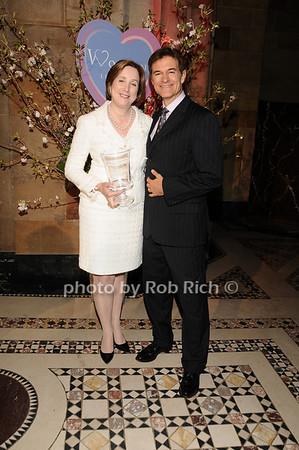 Dr. Pamela Gallin, Dr. Mehmet Oz<br /> photo by Rob Rich © 2010 516-676-3939 robwayne1@aol.com