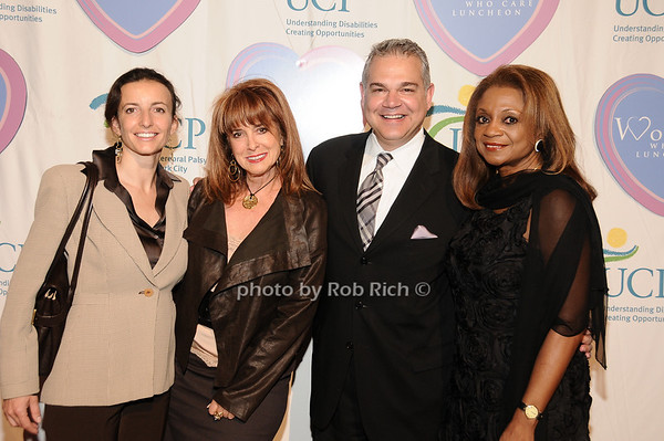 Joan Jedell, guests<br /> photo by Rob Rich © 2010 516-676-3939 robwayne1@aol.com