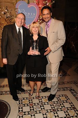 Gary Geresi, Anita Geresi, Jimmy Smits<br /> photo by Rob Rich © 2010 516-676-3939 robwayne1@aol.com