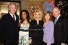 Alan Rickman, Robin Givens, Francine Lefrak, Donna Hanover, Rick Friedberg<br /> photo by Rob Rich © 2010 516-676-3939 robwayne1@aol.com