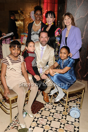 "Sasha Stewart Coleman, Otoniel ""Otto""Trujillo, William White, Eden Nicole Smith, guest, Loreen Arbus, Donna Hanover<br /> photo by Rob Rich © 2010 516-676-3939 robwayne1@aol.com"