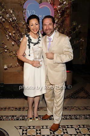 Ann Curry, William White<br /> photo by Rob Rich © 2010 516-676-3939 robwayne1@aol.com