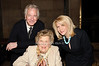Alan Rickman, Ethel  Lefrak, Francine Lefrak<br /> photo by Rob Rich © 2010 516-676-3939 robwayne1@aol.com