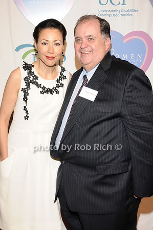 Ann Curry, Ed Matthews<br /> photo by Rob Rich © 2010 516-676-3939 robwayne1@aol.com