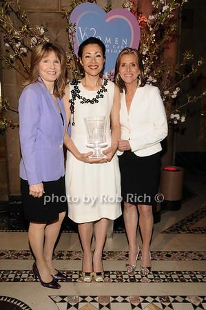 Donna Hanover, Ann Curry, Meredith Vieira<br /> photo by Rob Rich © 2010 516-676-3939 robwayne1@aol.com