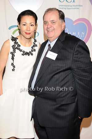Ann Curry, Ed Matthews<br /> photo by Rob Rich © 2010 516-676-3939 robwayne1@aol.com