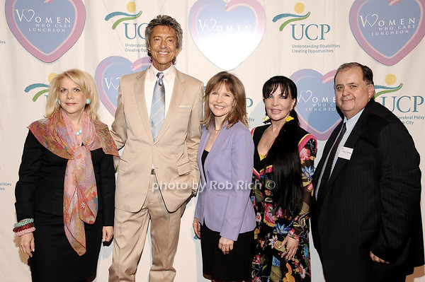 Francine LeFrak, Tommie Tune, Donna Hanover, Loreen Arbus, Ed Matthews<br /> photo by Rob Rich © 2010 516-676-3939 robwayne1@aol.com