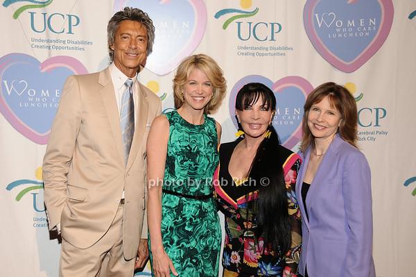 Tommy Tune, Paula Zahn, Loreen Arbus, Donna Hanover<br /> photo by Rob Rich © 2010 516-676-3939 robwayne1@aol.com