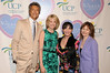 Tommy Tune, Paula Zahn, Loreen Arbus, Donna Hanover<br /> photo by Rob Rich © 2010 516-676-3939 robwayne1@aol.com